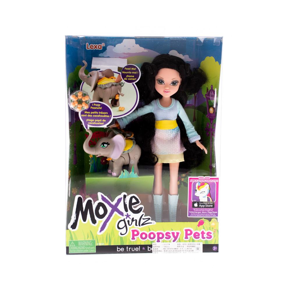 Փղիկով տիկնիկ Moxie