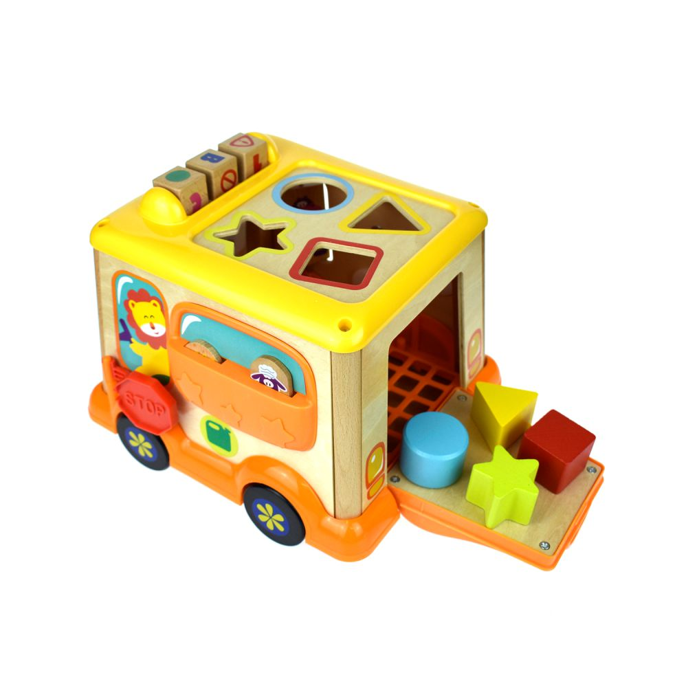 Փայտե զարգացնող ավտոբուս