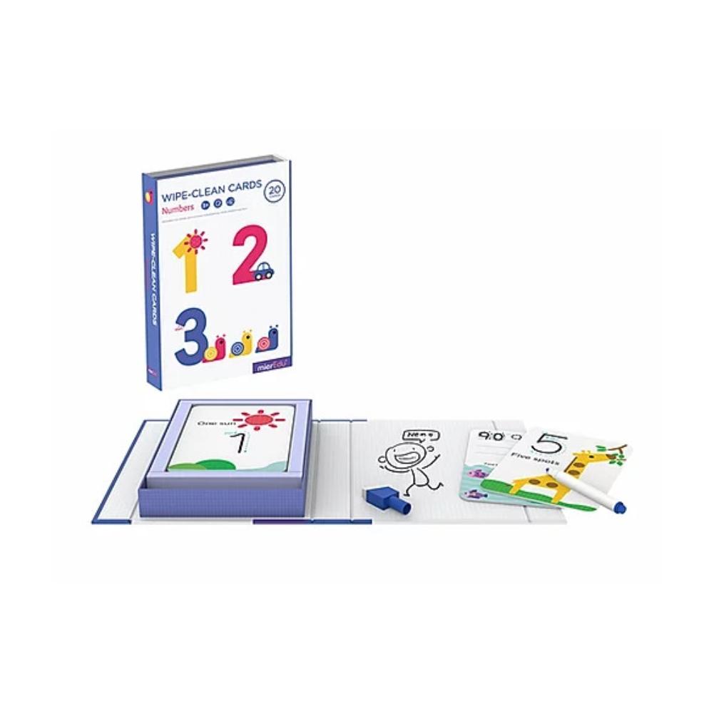 Ուսուցողական քարտերի հավաքածու թվերով