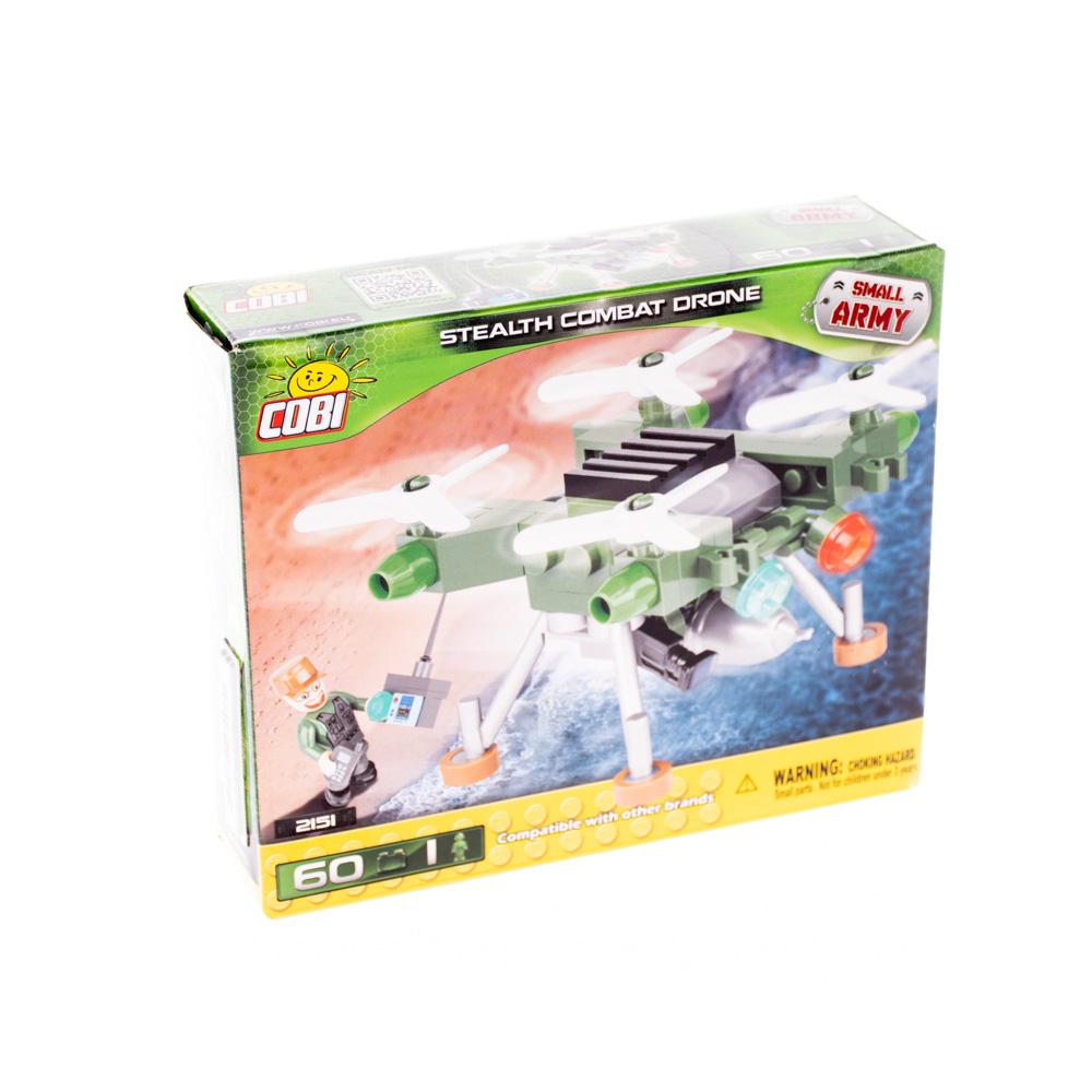 Կոնստրուկտոր COBI StealthCombat Drone 60 դետալ