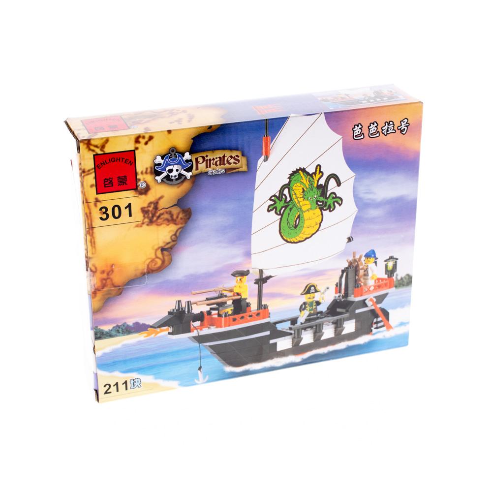 Կոնստրուկտոր ծովահեններ 211 դետալ