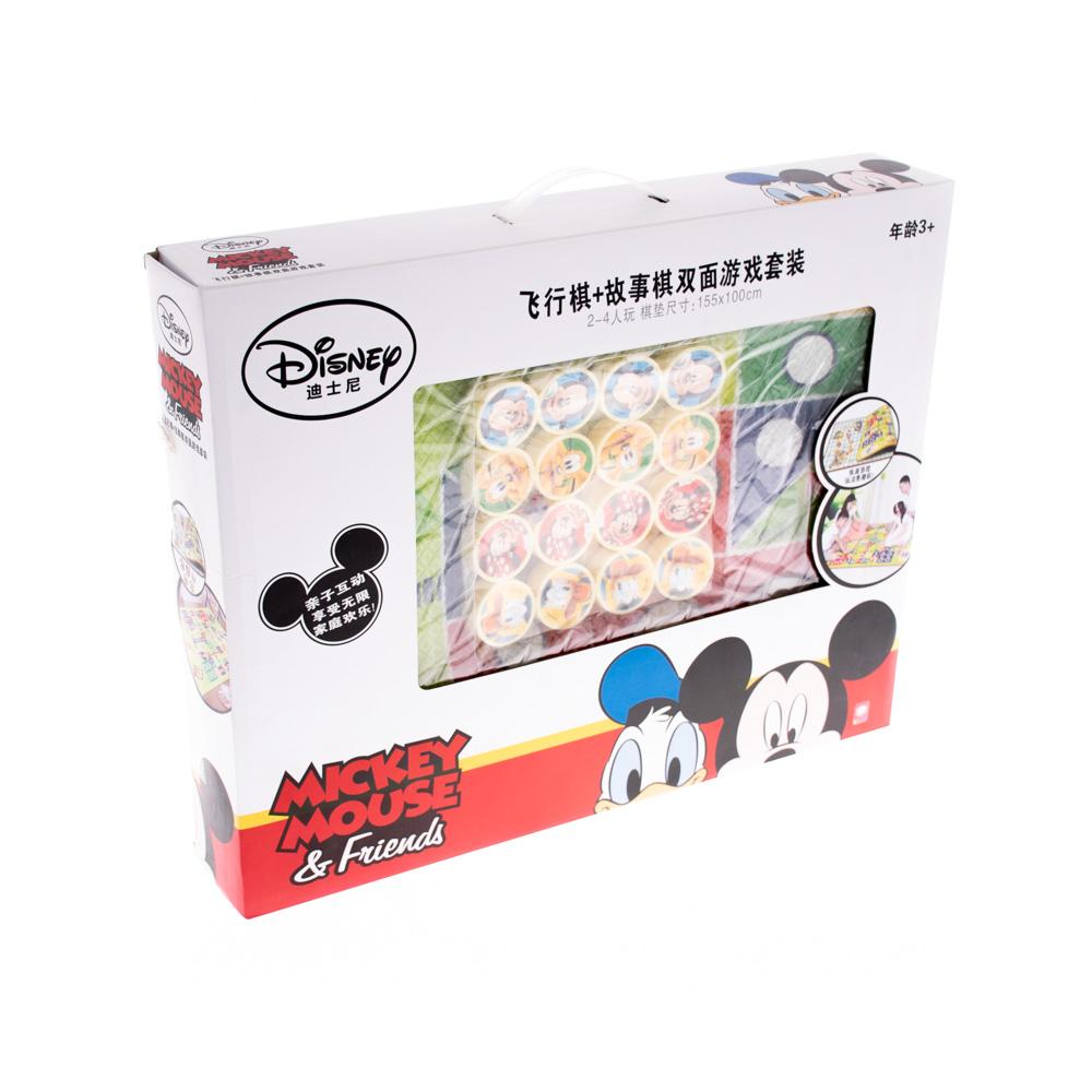 Զառով և ֆիշկաներով հատակի խաղ Mickey Mouse
